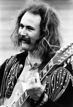 David Crosby - American guitarist, singer, and songwriter and founding member of folk rockers the Byrds, Crosby, Stills, Nash and Young and CPR.