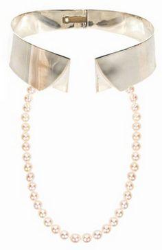 Collar Necklace by Delfina Delettrez