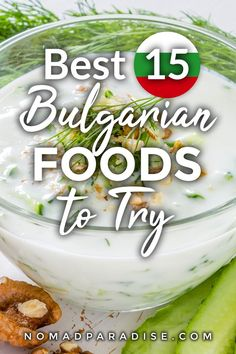 Bulgarian Food - 15 Best Traditional Bulgarian Dishes You Should Know About. Bulgarian Recipes, Bulgarian Food, International Recipes, Foodie Travel, Street Food, Love Food, Food And Drink, Travel Ideas, Travel Tips