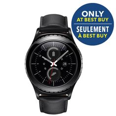 Samsung Gear Classic Smartwatch with Heart Rate Monitor - Black/Blue Samsung Gear S2 Classic, Cool Tech Gifts, Buy Gift Cards, Cool Things To Buy, Wonderful Things, Gift Card Giveaway, Great Christmas Gifts, Holiday Gift Guide, No Equipment Workout