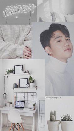 Wall paper kpop exo d.o ideas Kaisoo, Kyungsoo, Chanyeol, Lock Screen Wallpaper, Iphone Wallpaper, Exo Lockscreen, Background Diy, Exo Do, Do Kyung Soo