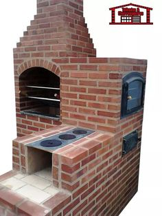 Masonry Barbecue: 30 Amazing Projects - See That .- Churrasqueira de alvenaria: 30 Projetos Incríveis – Veja Aqui Masonry BBQ: 30 Amazing Projects – See Here - Pizza Oven Outdoor, Outdoor Cooking, Masonry Bbq, Pizza Oven Fireplace, Fireplace Brick, Grill Bar, Barbecue Grill, Barbecue Design, Brick Bbq