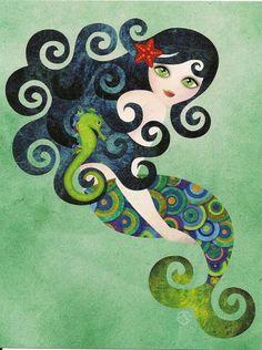 *Mermaid~~Postcard