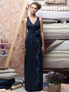 Lela Rose Bridesmaids Style LX146 in Midnight #PatsysBridal #bridesmaid #wedding www.patsysbridal.com