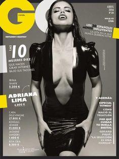 "theuniqueadrianalima: GQ UK, March 2016 ""No Adriana Lima, no Victoria's Secret. Adriana Lima, Irina Shayk, Vogue Fashion, Fashion Models, Latex Fashion, Uk Magazines, Fashion Magazines, Sexy, Skinny"