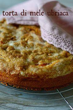 la pancia del lupo: torta di mele ubriaca