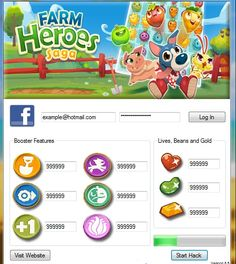 New Farm Heroes Saga hack is finally here and its working on both iOS and Android platforms. Test Games, Game Interface, New Farm, Game Resources, Game Update, Farm Hero Saga, Hack Online, The Ranch, Free Games