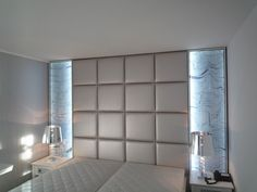 Light panels for walls – since brick veneer panels have better insulation capability, it is simple to personalize them in … Pvc Wall Panels, Decorative Wall Panels, Wood Panel Walls, Wardrobe Design Bedroom, Bedroom Bed Design, Brick Veneer Panels, Bed Back Design, 3d Wandplatten, Reclaimed Wood Wall Panels
