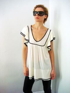 ivory sailor shirt.