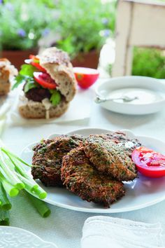 Syrian Herb and Meat Latkes (Ijeh B'Lahmeh)