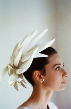 Audrey Hepburn photographed by Howell Conant, 1962.