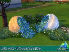 "The Sims 4. Plant ""Capsized flowerpot"" http://natatanec.blogspot.com.es/2015/09/the-sims-4-plant-capsized-flowerpot.html"