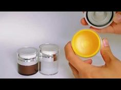 (7) SHENGRUISI(SRS) PACKAGING A100 classic airless pump jar skin care container - YouTube Nespresso, Container, Packaging, Jar, Pumps, Skin Care, Make It Yourself, Classic, Youtube