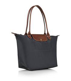 Le Pliage Small Shoulder Bag Gunmetal