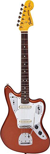 Fender Johnny Marr Signature Jaguar Electric Guitar, Metallic Kandy Orange -- Read more  at the image link.