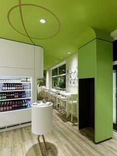 Wienerwald Corporate Restaurants, Architecture, Munich, Germany- Ippolito Fleitz Group Identity Architects