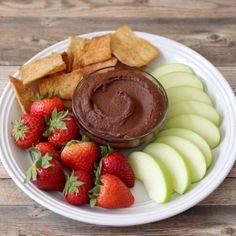 Easy Chocolate Hummus Recipe That Tastes Like Brownie Batter