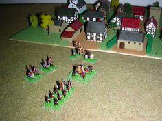 Napoleonic Wargame with 6mm (1/300 or 1/285) miniatures : Austria: Freikorp Pfaffenhofen: fanteria, cavaller...