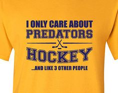 Nashville Predators Hockey Shirt NHL Predators Hockey Mens Birthday Gift Christmas Gift Ultimate Hockey Fan Custom Shirt Team Pride BD-222