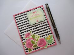 Check out this item in my Etsy shop https://www.etsy.com/au/listing/263628568/handmade-card-be-happy-be-bright-be-you