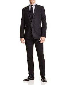 Ralph Lauren Black Label Windowpane Anthony Slim Fit Suit - 100% Bloomingdale's Exclusive