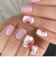 Best Nail Designs of 2019 – Latest Nail Art Trends – 17 These nail designs will be your indispensable. Stamp this summer with the latest trend nail designs. these great nail designs will perfect you. Now let's take a look at these designs Fall Nail Art Designs, Acrylic Nail Designs, Acrylic Nails, Coffin Nails, Flower Nail Designs, Summer Nail Designs, Nails With Flower Design, Nails Design Autumn, Acrylic Spring Nails