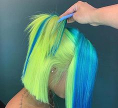 Colorful Bob Lace Front Wig Brazilian Remy Straight Human Hair Bob Wigs with Baby Hair Pelo Multicolor, Curly Hair Styles, Natural Hair Styles, Peinados Pin Up, Birthday Hair, Baddie Hairstyles, Dreadlock Hairstyles, Hair Laid, Love Hair