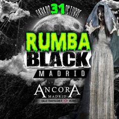 Este Sabado 31 de Octubre....Nos vamos a bailar al Mejor estilo de Rumba Venezolana... Si no tienes disfraz vístete de Negro y no pasa nada.