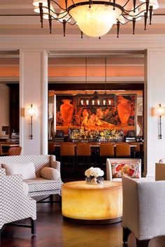 Daily high tea is served fireside at the Lobby Lounge. Monarch Beach Resort (Dana Point, California) - Jetsetter