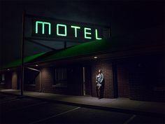 Night time motel photoshoot » Rachelle Rousseau Photography