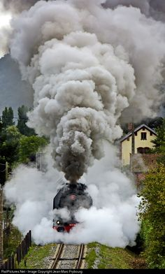 RailPictures.Net Photo: 141R 420 SNCF 141R at Massiac, France by Jean-Marc Frybourg
