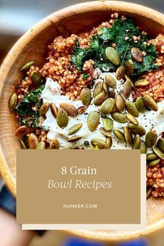 If you're ready for new summer bowl inspiration, we've got you covered. There are endless recipe combos that can zest up your grain routine. #hunkerhome #grainbowl #grainbowlrecipes #grainbowlrecipeideas