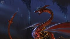 Smaug and His Treasure by Shockbolt on Deviant Art. Click the link for Great Opening Sentences from Classic Fantasy Novels. Writing Fantasy, Fantasy Books, Illustrations, Illustration Art, Here Be Dragons, The Last Unicorn, The Time Machine, Middle Earth, Fantasy Creatures