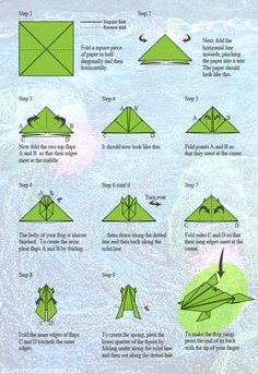 MOT-Origami Jumping Frog Instructions Tutorial-Nuit Blanche 2012