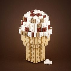 Or an ice cream cone. | 21 Whimsical LEGO Creations By Chris McVeigh