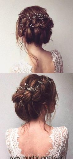 gorgeous bridal updo hairstyle for all brides frisuren haare hair hair long hair short Wedding Hair And Makeup, Hair Makeup, Bridal Makeup, Boho Makeup, Makeup Hairstyle, Eye Makeup, Bridal Beauty, Up Hairstyles, Wedding Hairstyles