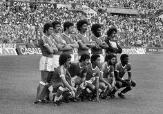 Equipa do Benfica que recebeu o FC Porto (0-0), na 3ª jornada do campeonato 1979/80. Em cima: Nené, Humberto, Bastos Lopes, Alhinho, Alberto e Bento. Em baixo: Pietra, Chalana, Shéu, Fonseca e Reinaldo.