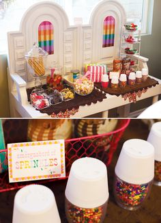 SWEET Ice Cream Party {Birthday A La Mode} I love this party! So cute! Evie A La Mode!