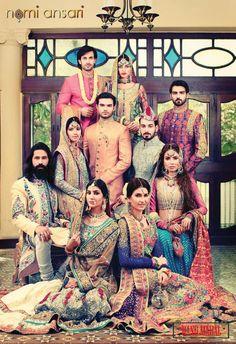 2014 #Desi Wedding 'Rang Mahal' collection by @NomiAnsari #Pakistan http://NomiAnsari.com.pk/ via @ShazasScrapbook