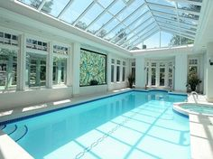Luxury indoor swimming pool design & installation company based in Surrey. Winner of Master Pools Guild awards for design #swimmingpool