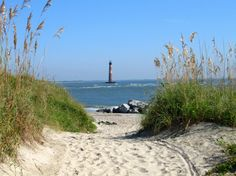 Another Beautiful Day at the Beach!  The Morris Island Lighthouse in Charleston SC