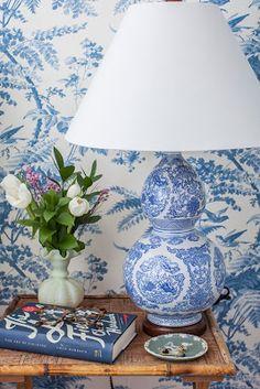 BOISERIE  C. White  Blue: 22 ideas for furnishing the winning