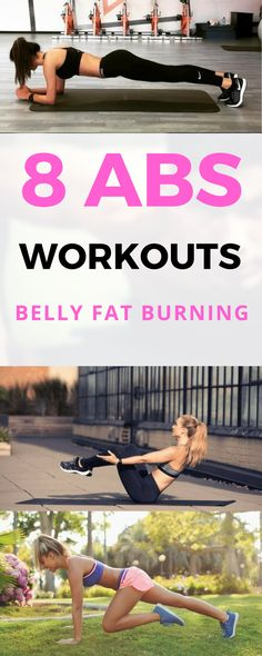 8 Beginner Workouts for Sculpting ABS Effectively - Belly Fat Burning | Fitness | Yoga | Health | Exercise | Bodybuilding