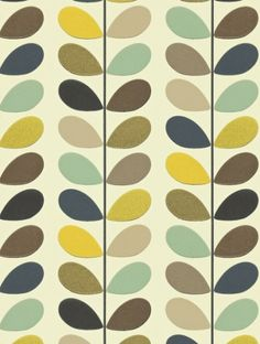 Multi+Stem+,+a+feature+wallpaper+from+Orla+Kiely,+featured+in+the+Orla+Kiely+Wallpapers+collection.