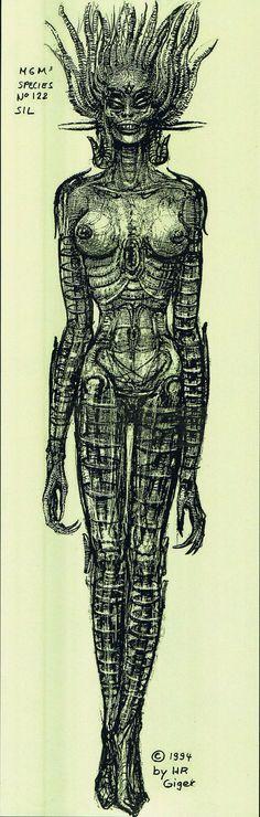 Species (1994), H.R. Giger