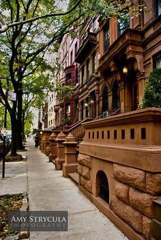 new york brownstones -