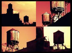 "Saatchi Art Artist MISHA DONTSOV; New Media, ""New York Water Tower, Limited edition 1 of 5"" #art"