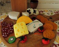 Felt Baking Set, Felt Food, Felt Cookies, eco friendly childrens pretend play…