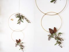 Gold Ring Wreath DIY's