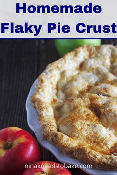 This is my favourite homemade flaky pie crust that has been past down from generations. It makes a consistent flaky pie, every single time! Old Fashioned Apple Pie, Cinnamon Apples, Custard, Pie Recipes, Fun Desserts, Rolls, Homemade, Breakfast, Spices